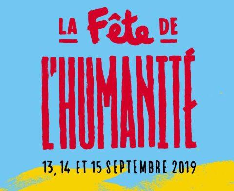 affichette Fête de l'Humanité 2019