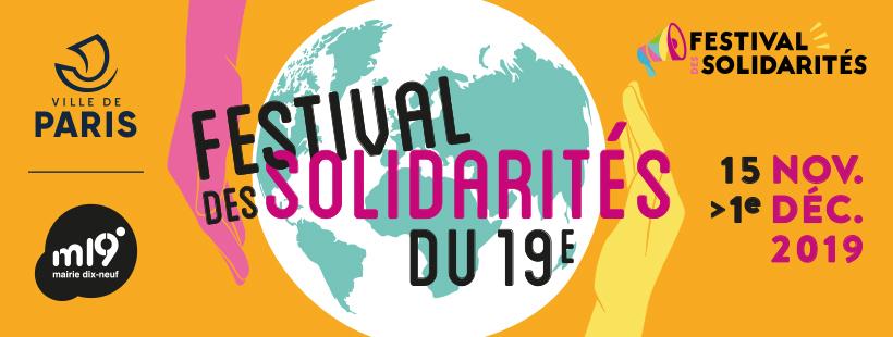 Festival des solidarités de Paris 19e