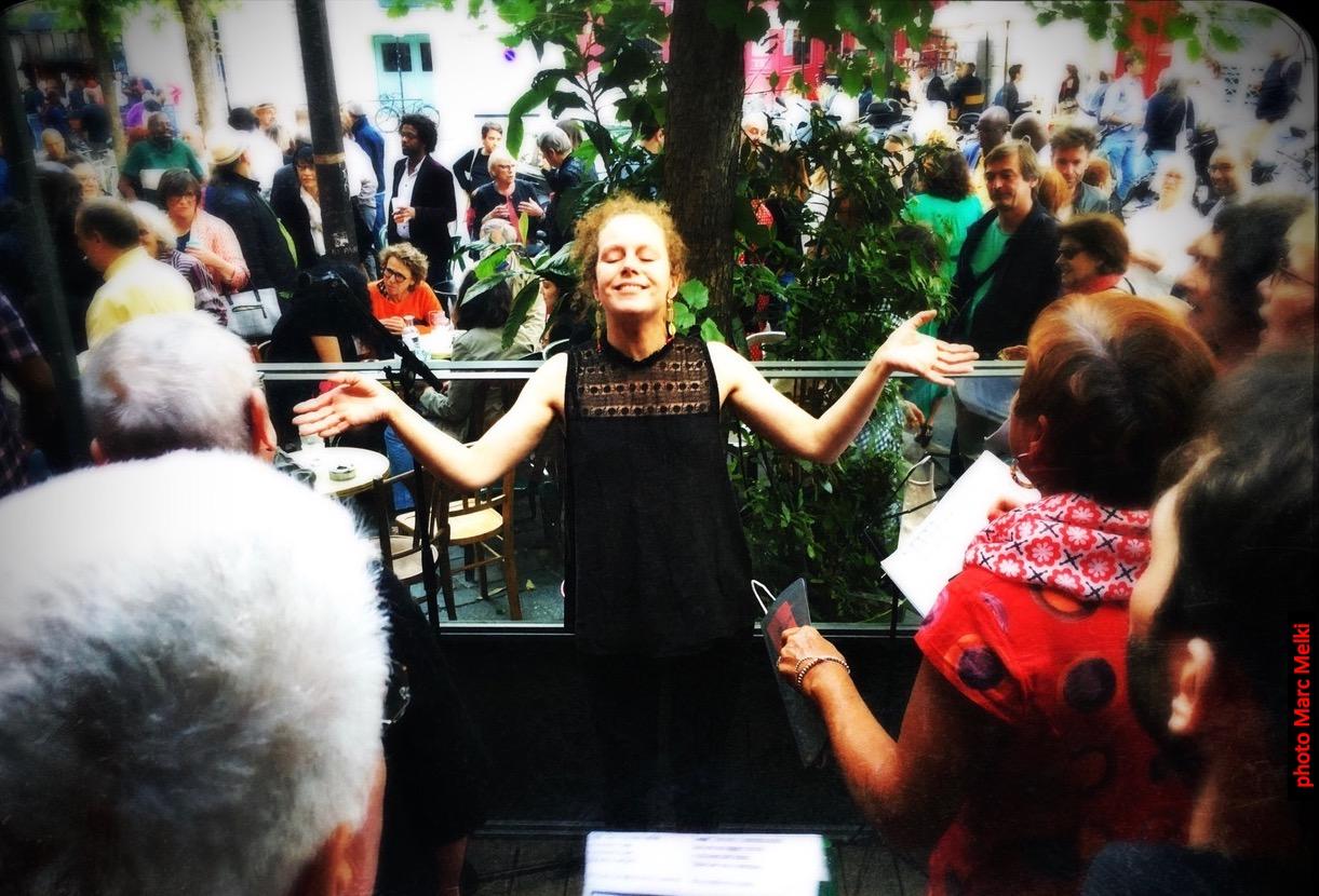 la chorale L'Ut en Chœur en juin 2020
