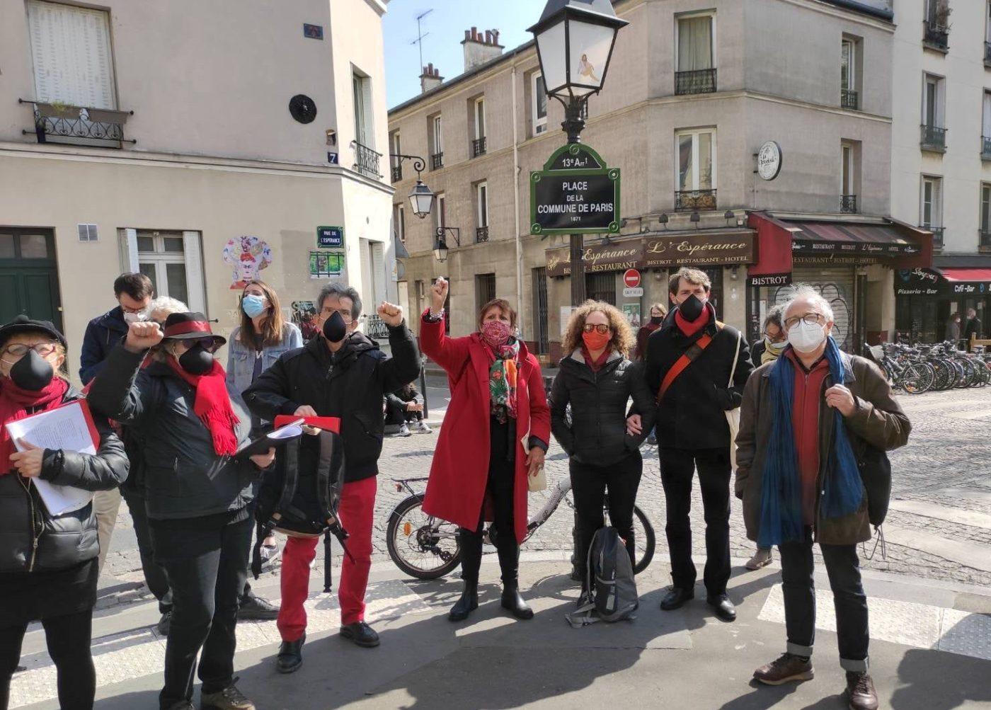 L'Ut en Chœur place de la Commune de Paris