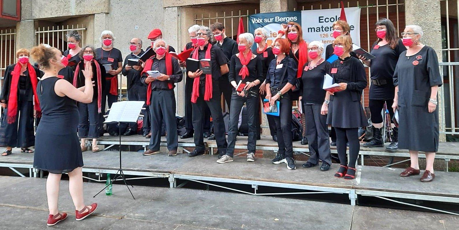 L'Ut en Chœur au festival Voix sur Berges 2021